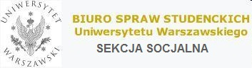 BIURO SPRAW STUDENCKICH UW - SEKCJA SOCJALNA