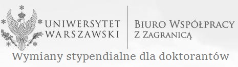 Biuro Współpracy z Zagranicą UW - wymiany stypendialne dla doktorantów