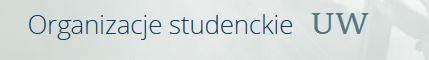 ORGANIZACJE STUDENCKIE UW