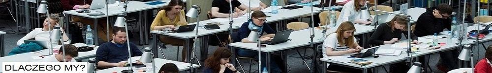 Studenci czytelnia BUW