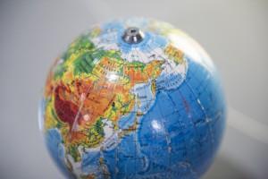 Zdjęcie globusa