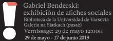 WYSTAWA ARTYSTY URUGWAJSKIEGO GABRIELA BENDERSKIEGO
