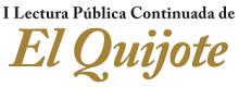 PODZIĘKOWANIE ZA UDZIAŁ W I PUBLICZNYM CZYTANIU DON KICHOTA MIGUELA DE CERVANTESA