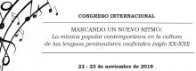 """""""MARCANDO UN NUEVO RITMO: LA MÚSICA POPULAR CONTEMPORÁNEA EN LA CULTURA DE LAS LENGUAS PENINSULARES COOFICIALES (S. XX-XXI)"""""""