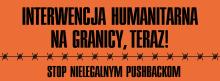 STANOWISKO PRACOWNIKÓW INSTYTUTU W SPRAWIE KRYZYSU HUMANITARNEGO NA GRANICY